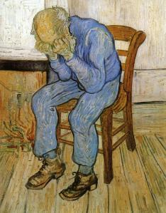Old Man in Sorrow Vincent van Gogh [Public domain], via Wikimedia Commons